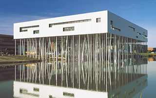 Aluminiumcentrum utiliteitsbouw